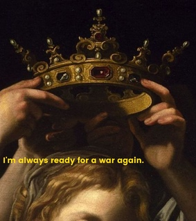 kendrick, crown and painting