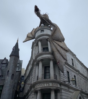 movies, gringotts and dark