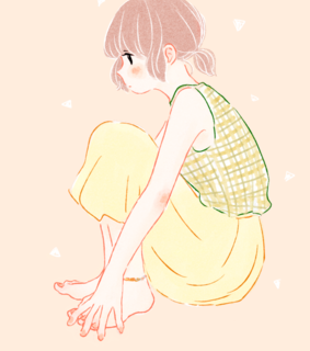 cute, artiste and pink