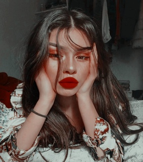 ulzzang, fashion and red