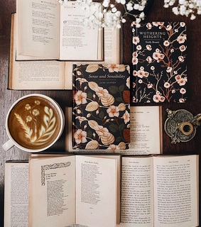 wuthering heights, tumblr and coffee
