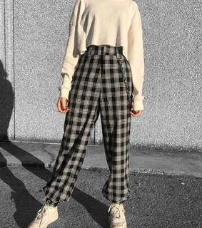 fall outfit, plaid and fashion