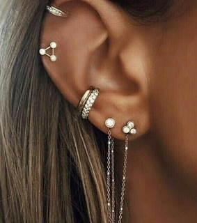 earrings, jewelry and ear piercings