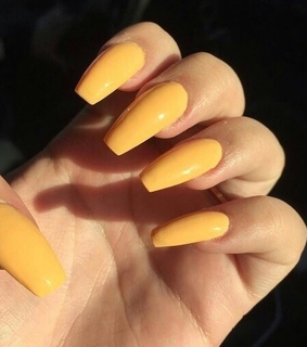 nails, care free and yellow nails