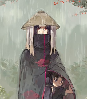 anime, itachi uchiha and naruto shippuden
