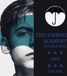 the umbrella academy, five hargreeves and tumblr