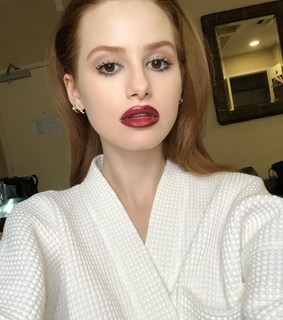 madelaine petsch, party and ginger hair