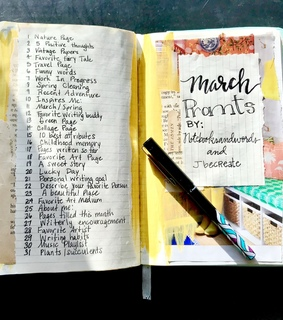 journal inspo, march prompts and journaling ideas
