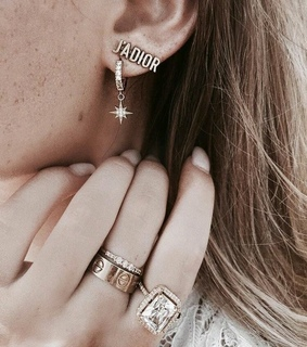 earrings, sparkle and beautifull