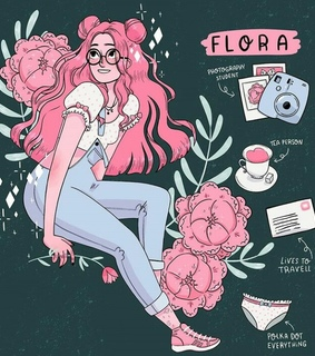 hipster, art and pink
