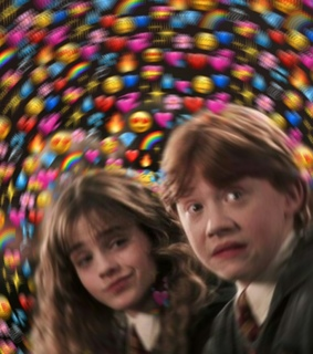 romione, rony and harry potter