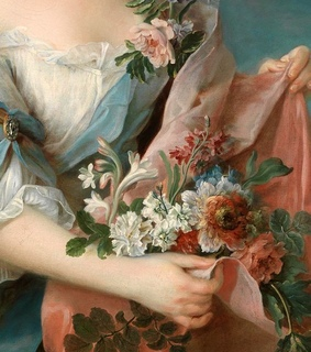 oil painting, painting and flowers