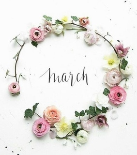 months, hello march and march