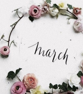 spring, hello march and mart