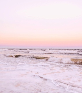 soft, pastel and sunset