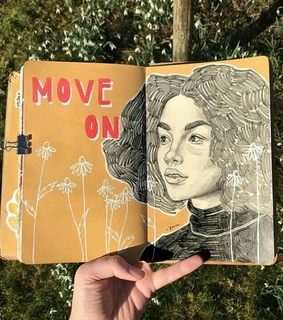 journaling, movingon and journals