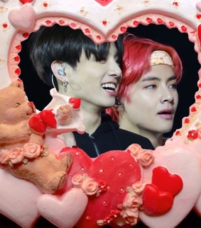 jeon jungkook, valentines day and kpop