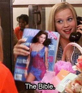 pink, legally blonde and bible