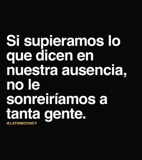 ausencia, frases and gente