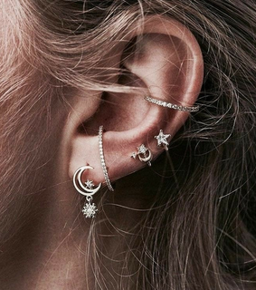 cute, earrings and accessory