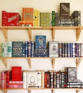aesthetic, colors and books