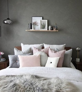 interior inspiration, pillows and cozy