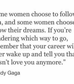 feminist, lady gaga and strong