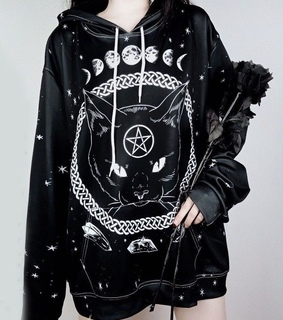 dark, occult and gothic fashion