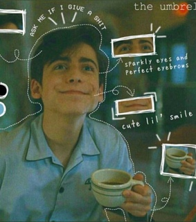 aidan gallagher, 5 and decent coffee