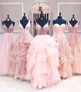wedding, pink and style