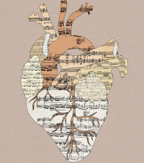 heart, music and sound