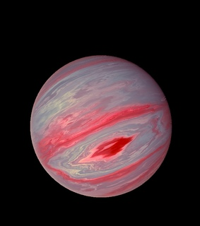 red, planet and planes