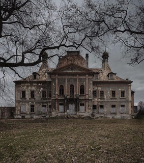 house, scary and vintage