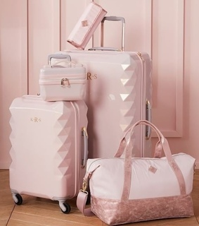 travel, girl and pink