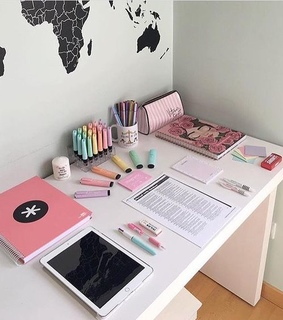 supplies, smart and colorful