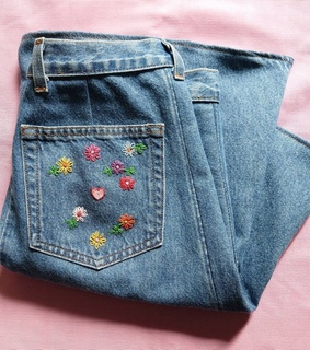 vintage, craft and jeans