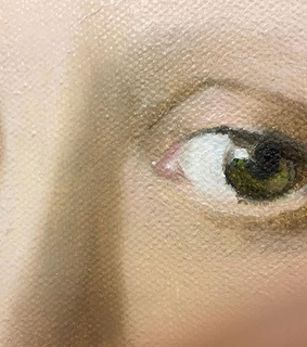eyes, oil painting and girl with pearl earring