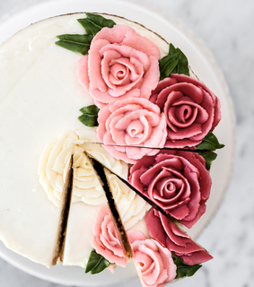 roses, yummy and food