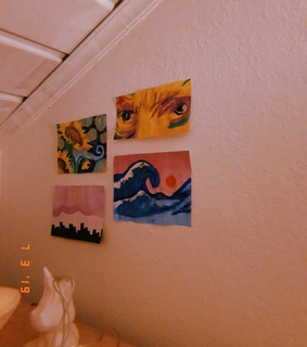 sunflower, aesthetic and room