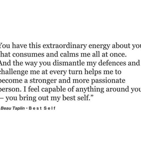 calms, quote and love