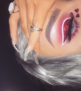 glam, accessories and makeup inspo