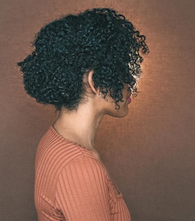natural hair, style and curls