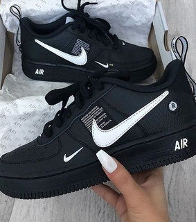 nike, style and black shoes