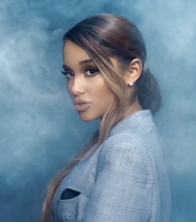 ariana grande, cover and blue
