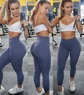 fitness, sport and sporty girl