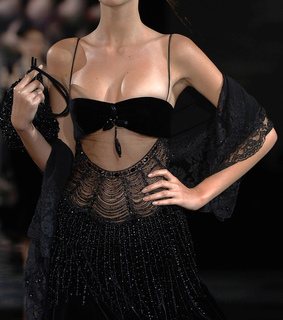 runway, details and armani