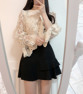 lace, moda and top