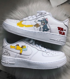 custom shoes, air force and quote