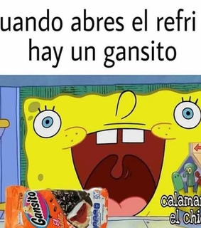 gansito, bob esponja and memes en espagol