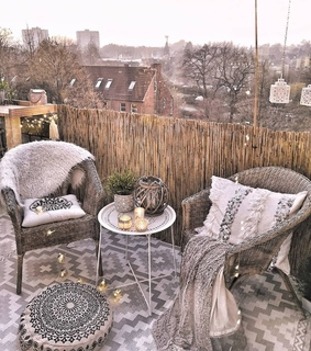 chairs, cosy and decoration